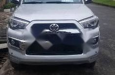 Foreign Used Toyota 4-Runner 2016 Model Silver