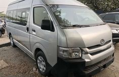 Foreign Used Toyota HiAce 2011 Model Silver
