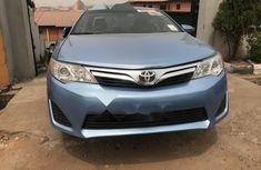 Foreign Used Toyota Camry 2013 Model Blue