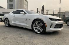 Direct Tokunbo Chevrolet Camaro 2017 Model Petrol Automatic White