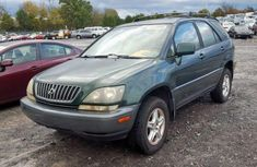 Foreign Used Lexus RX 2000 Model Green