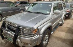 Nigeria Used Toyota 4-Runner 2002 Model Silver