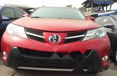 Foreign Used Toyota RAV4 2013 Model Red
