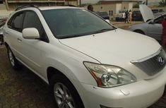 Foreign Used Lexus RX 2008 model White