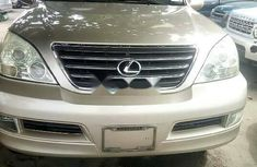 Foreign Used Lexus GX 2007 Model Gold