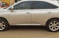 Nigeria Used Lexus RX 2010 Model Silver