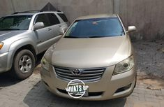 Nigeria Used Toyota Camry 2007 Model Gold