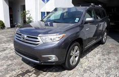 Tokunbo Toyota Highlander 2013 Model Gray