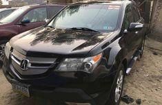 Foreign Used Acura MDX 2008 Model Black for sale
