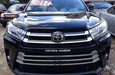Foreign Used Toyota Highlander 2017 Model Black