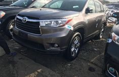 Foreign Used Toyota Highlander 2016 Model Brown