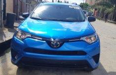 Foreign Used Toyota RAV4 2017 Model Blue