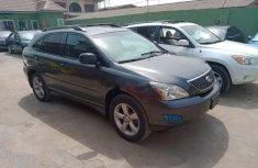 Nigeria Used Lexus RX 2007 Model Black