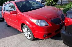 Foreign Used Pontiac Vibe 2008 Model Red