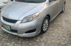 Nigeria Used Toyota Matrix 2010 Model Silver