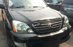 Foreign Used Lexus GX 2007 Model Black