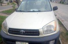 Nigeria Used Toyota RAV4 2003 Model Gold