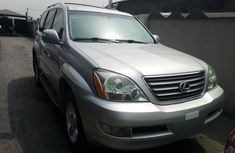 Foreign Used Lexus GX 2004 Model Silver