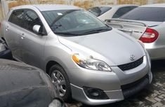 Foreign Used Toyota Matrix 2010 Model Silver