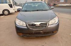 Nigeria Used Hyundai Elantra 2009 Model Gray