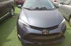 Foreign Used Toyota Corolla 2018 Model Gray