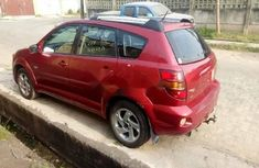 Foreign Used Pontiac Vibe 2005 Model Red