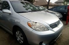 Foreign Used Toyota Matrix 2006 Model Silver
