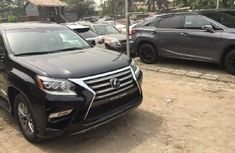 Foreign Used Lexus GX 2015 Model Black
