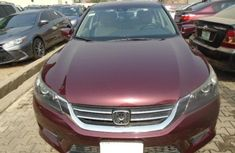 Nigeria Used Honda Accord 2014 Model Red