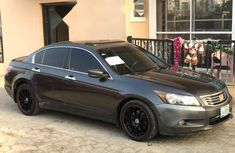 Nigeria Used Honda Accord 2010 Model Gray
