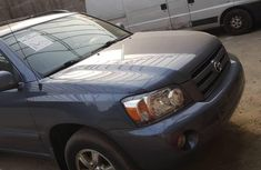 Foreign Used Toyota Highlander 2006 Model Blue