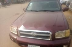 Nigeria Used Nissan Pathfinder 2002 Model Red