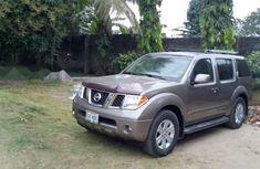Foreign Used Nissan Pathfinder 2007 Model Brown