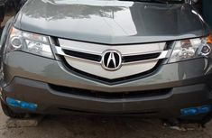 Foreign Used Acura MDX 2009 Model Gray