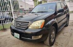 Nigeria Used Lexus GX 2008 Model Black
