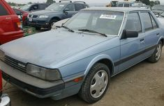 Foreign Used Mazda 626 1997 Model Blue for Sale