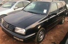 Foreign Used Volkswagen Golf 2 1999 Model Black