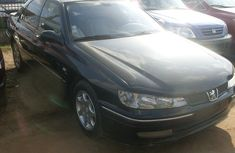 Foreign Used Peugeot 406 2000 Model Black for Sale