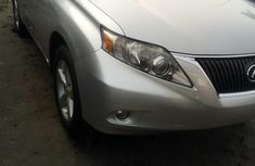 Foreign Used 2010 Silver Lexus RX for sale in Lagos