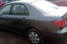 Foreign Used Toyota Corolla 2008 Model Gray