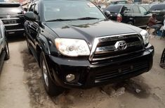 Foreign Used Toyota 4-Runner 2008 Model Black for Sale