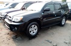 Foreign Used Toyota 4 -Runner 2008 Model Black for Sale