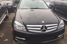 Foreign Used Mercedes Benz C300 2008 Model Black for Sale