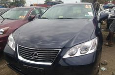 Foreign Used Lexus ES350 2008 Model Black for Sale
