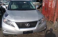 Foreign Used Lexus RX 2013 Model Silver