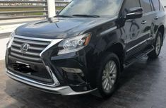 Nigeria Used Lexus GX 2017 Model Black