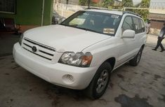 Foreign Used Toyota Highlander 2007 Model White
