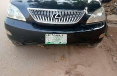 Nigeria Used Lexus RX 2004 Model Black