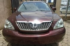 Foreign Used Lexus RX 2008 Model Brown