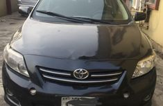 Nigeria Used Toyota Corolla 2009 Model Black